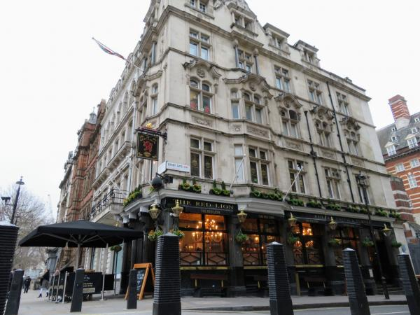 If you're feeling famished or fancy a pint, consider stopping in at the Red Lion or Fuller's Pie and Ale House, right off Parliament Square. It was the most expensive food we ate in the UK but quintessentially British.